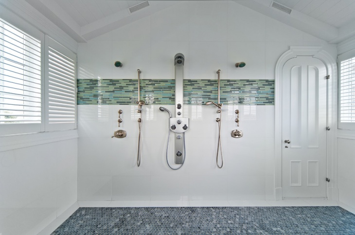 modern shower room design