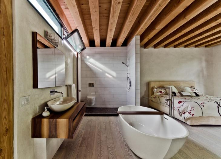 Attic Shower Room Design