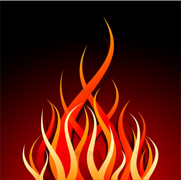 fire vector design