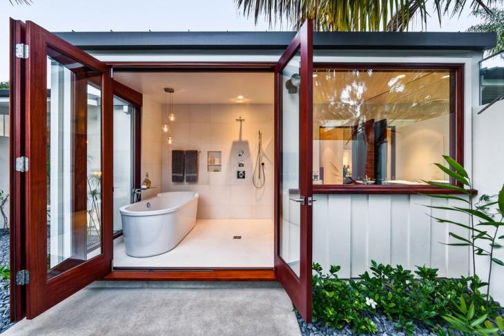 Outdoor Shower Room