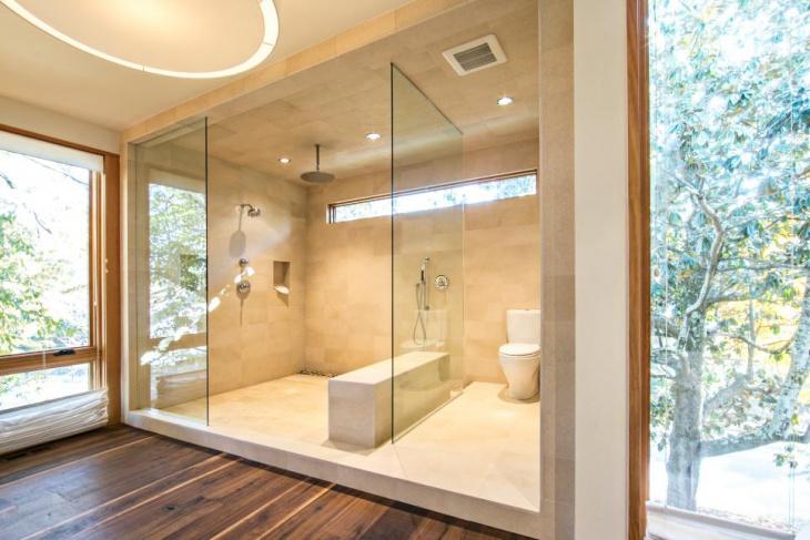 Classic Walk In Shower Room Idea