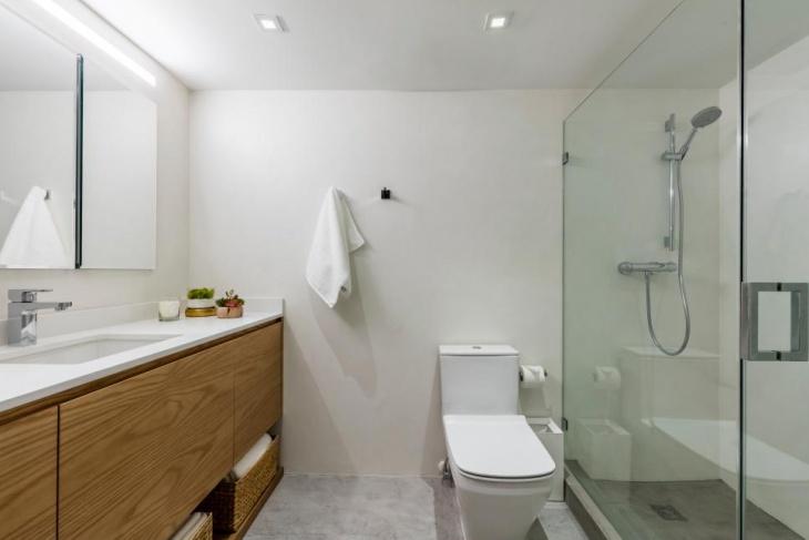 Interior Bathroom Shower Room Design