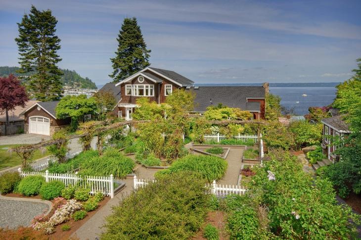 Beach Front Garden Idea