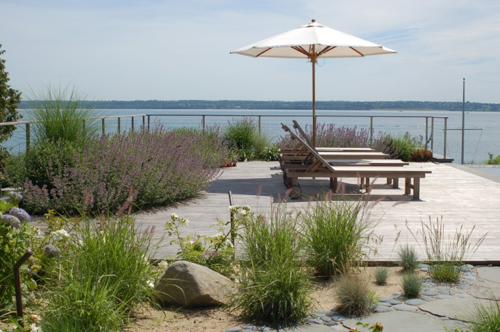 16 beach garden designs ideas design trends premium for Beach garden designs