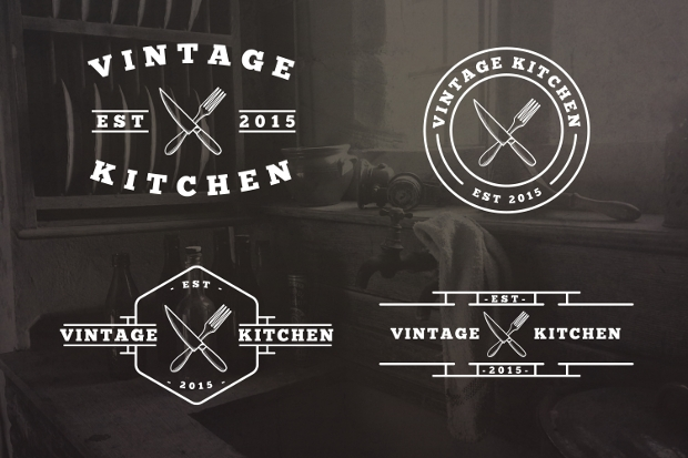 Vintage Kitchen Logo