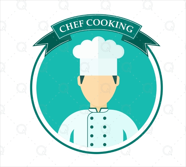 Chef Cooking Logo Design