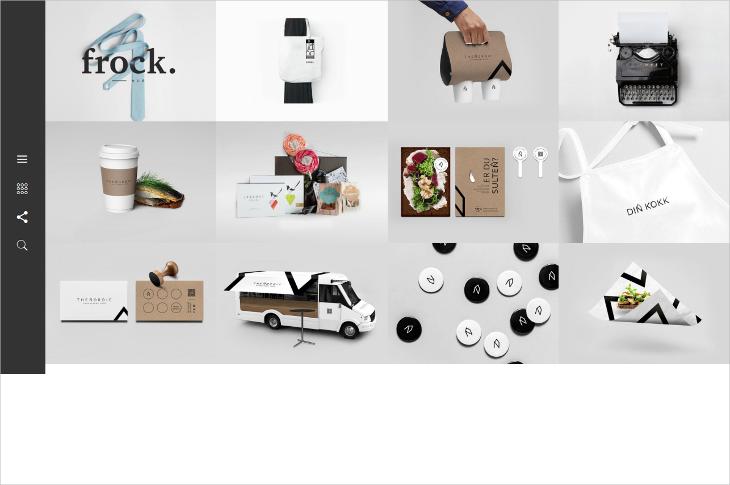 minimal portfolio drupal theme