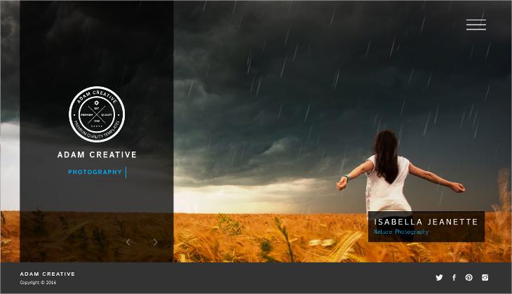 creative multi page portfolio drupal template