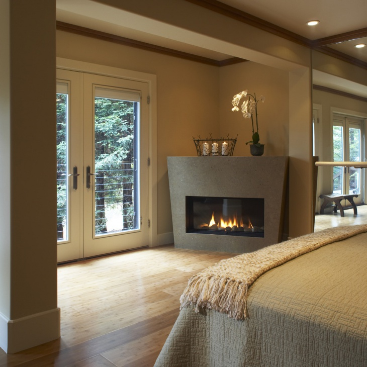 17+ Corner Fireplace Designs, Ideas | Design Trends - Premium PSD ...
