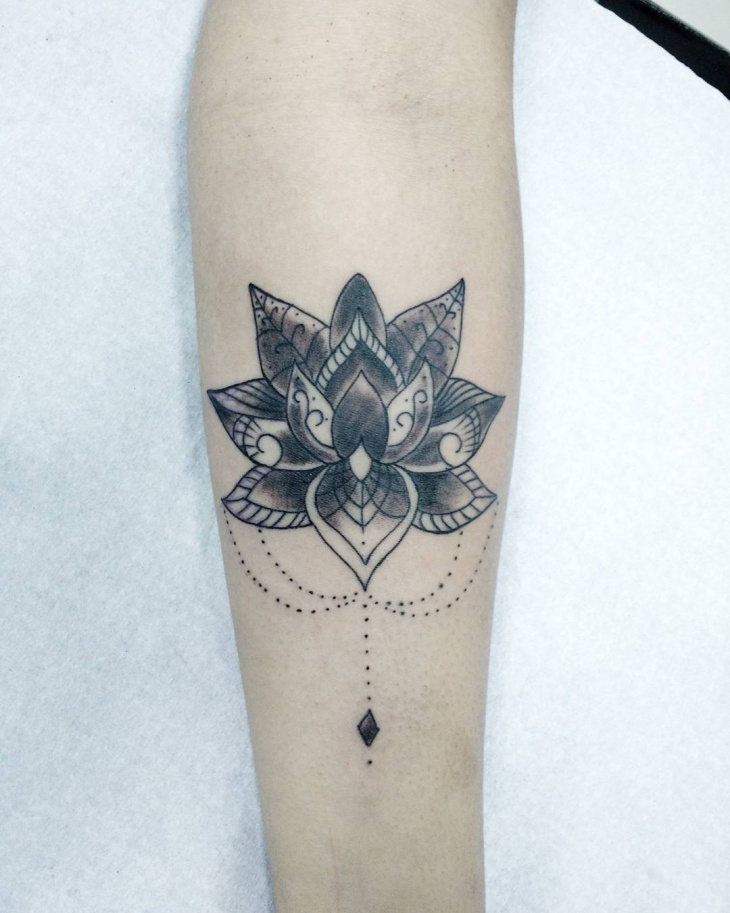 Lotus Flower Tattoo Design