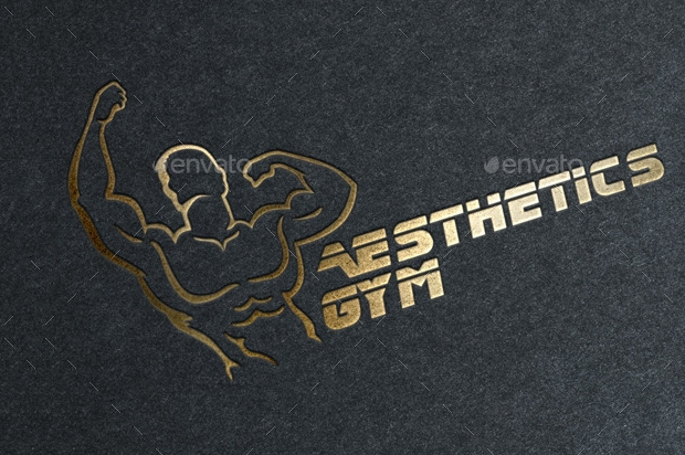 fitness gym logo design