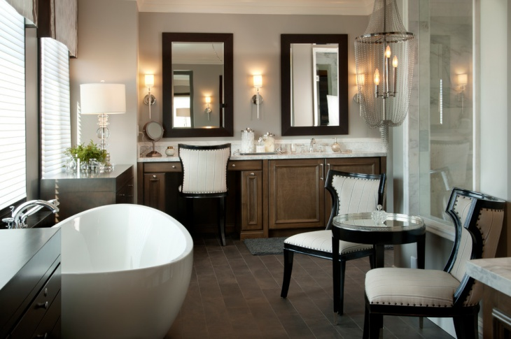 Large Luxury Bathroom Design