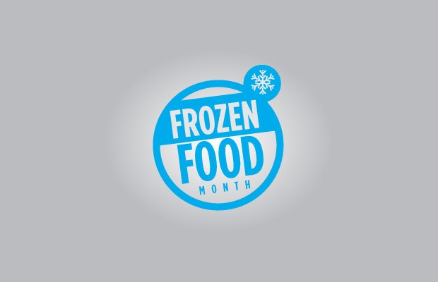 frozen food logo design