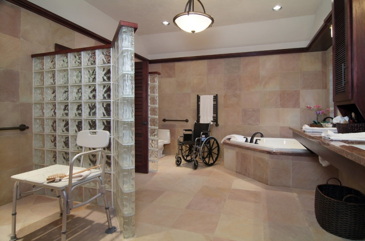 60 bathroom designs ideas design trends premium psd for Handicapped accessible bathroom designs