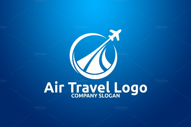 air travel logo design,