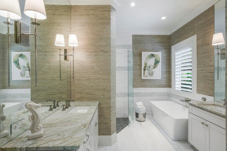 Asian Contemporary Bathroom Design
