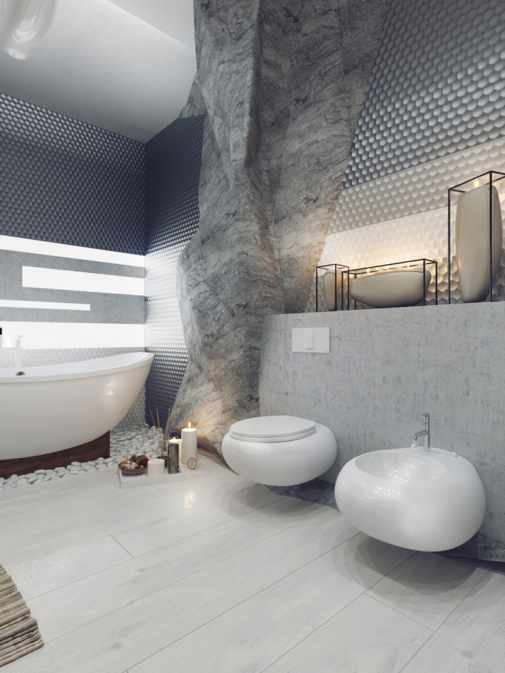 60 bathroom designs ideas design trends premium psd for Modern guest bathroom designs