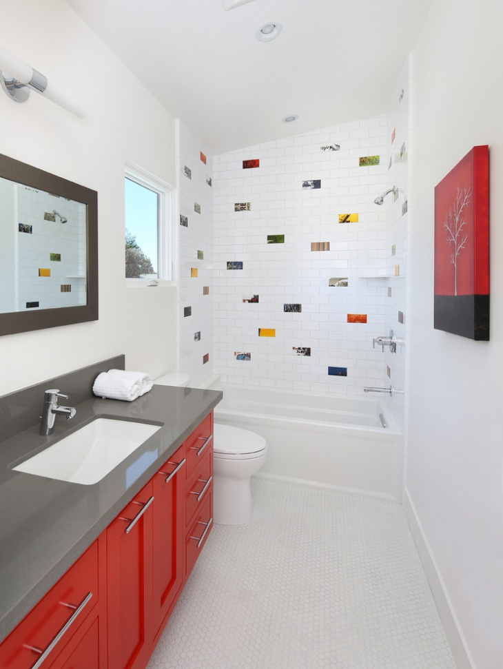 Awesome Cool Shower Tile Design For Kids Bathroom. Cool With The Floor Is A  Feature Suitable For Traditional Bathrooms