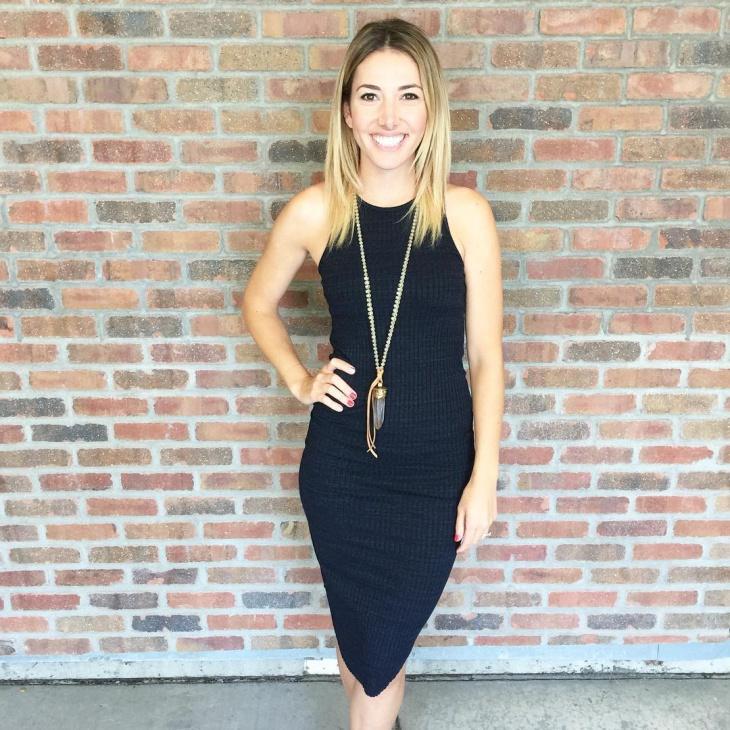 trendy tank dress idea