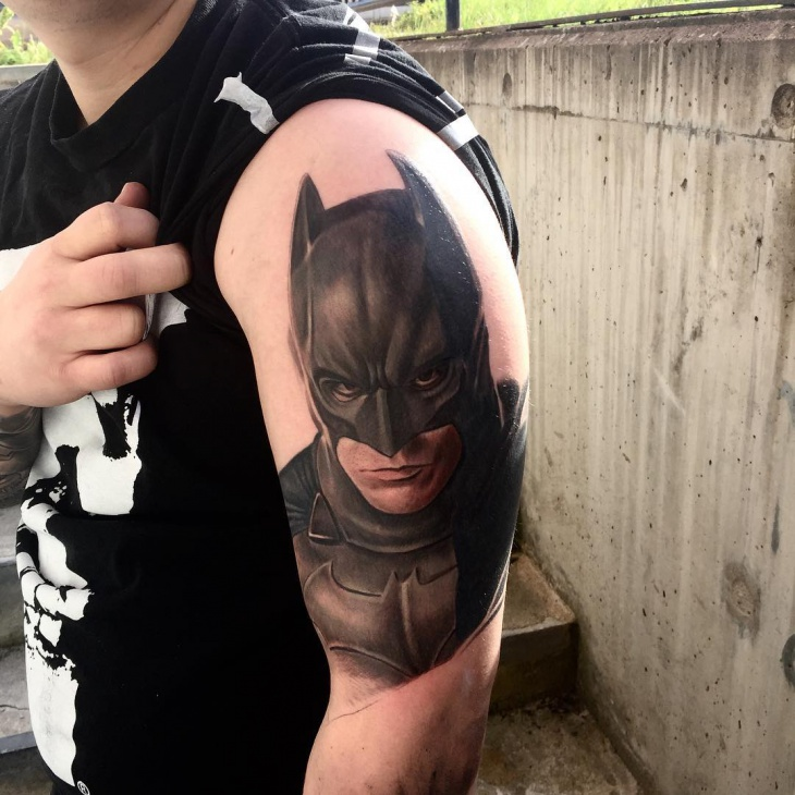 Batman Mask Tattoo