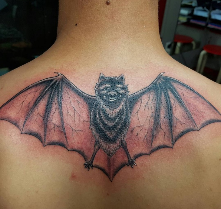 Batman Tattoo for Back