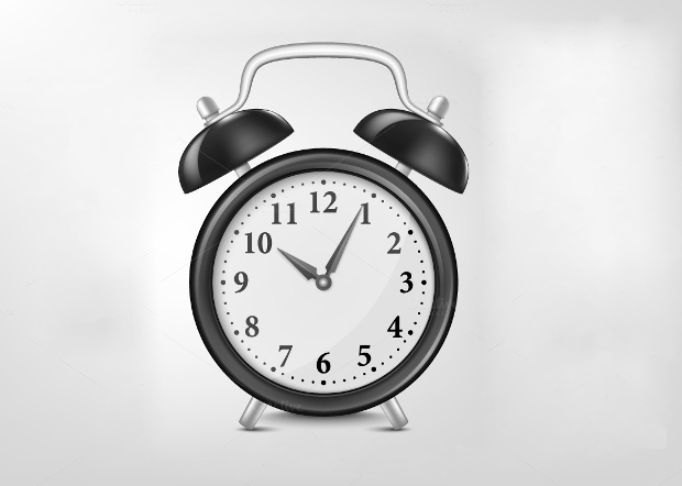 Alarm Clock Vector Set