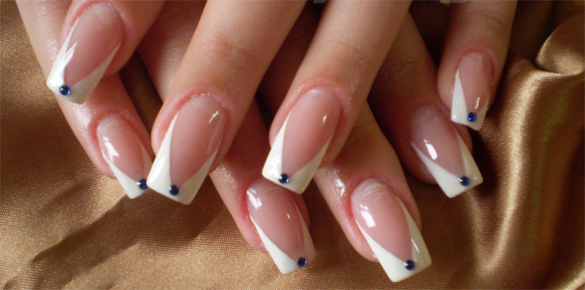 Winter french Manicure