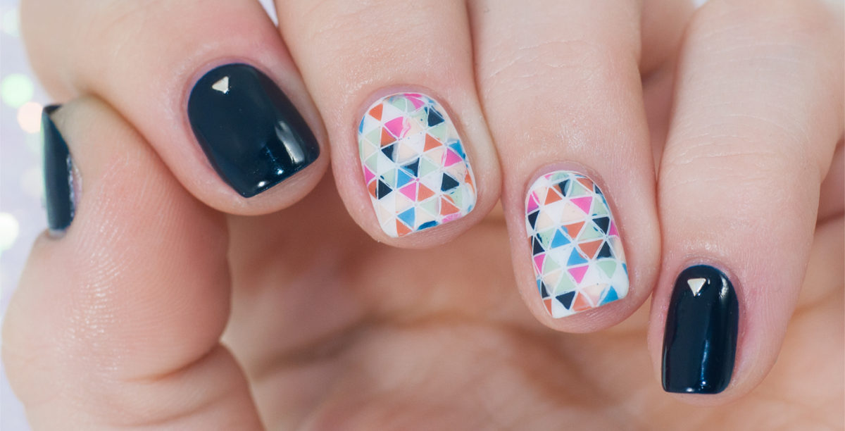 Pattern Winter Nail Art