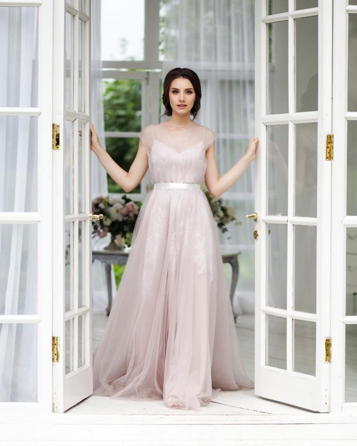vintage tulle dress design