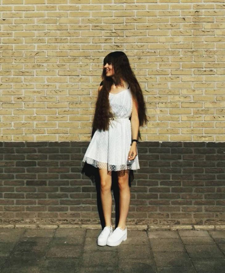 short tulle dress design