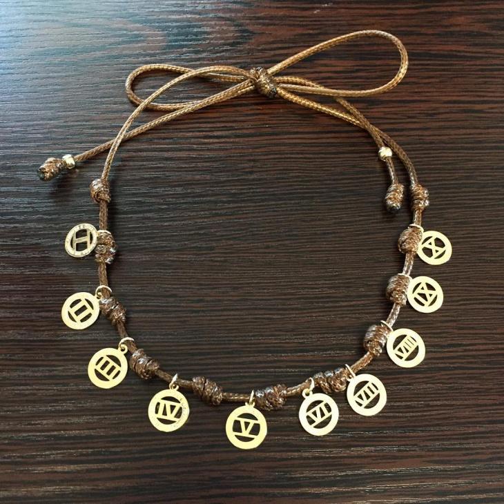 unique leather necklace design