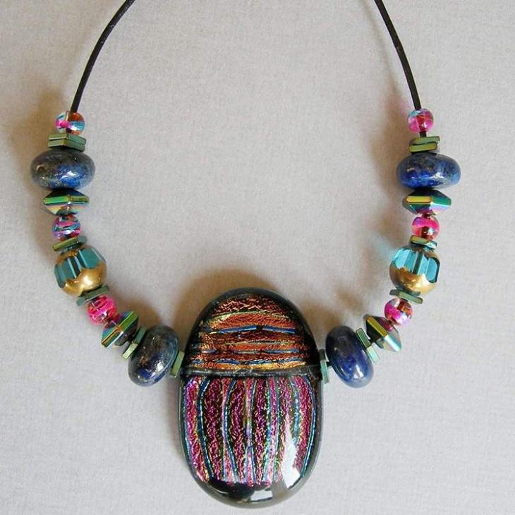 21 Leather Necklace Designs Ideas Design Trends