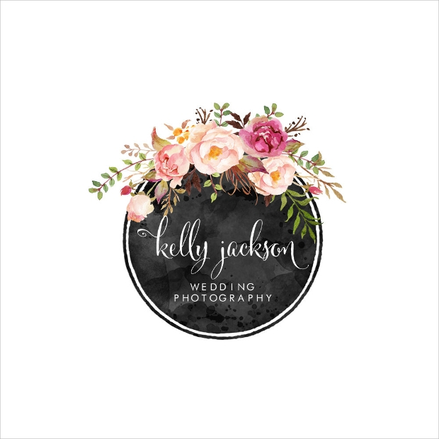 wedding photography logo design,