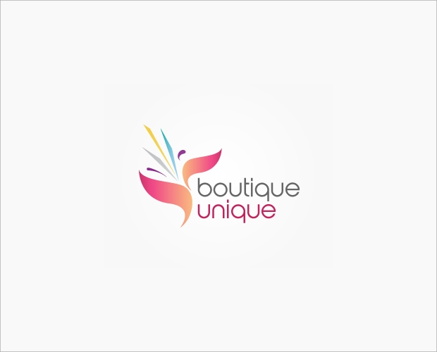 fashion boutique logo design,,