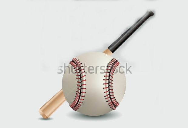 abstract baseball bat vector illustration1