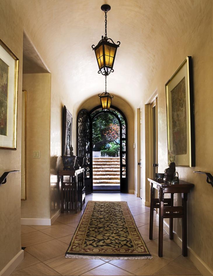 narrow hallway ceiling lights
