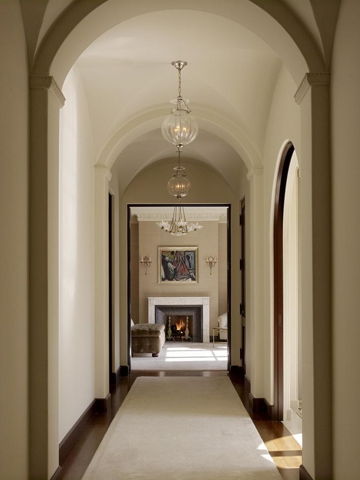 hallway ceiling light idea