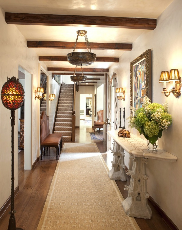 Rustic Hallway Ceiling Lights