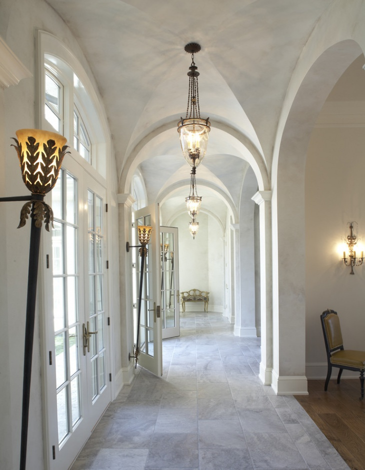 traditional hallway ceiling lights