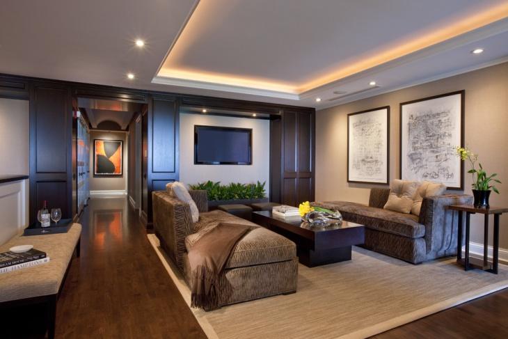 hallway furniture ceiling lights