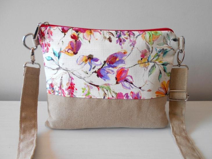 Floral Crossbody Handbag