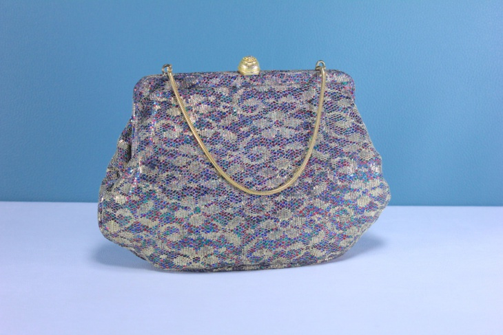 Floral Clutch Handbag Design