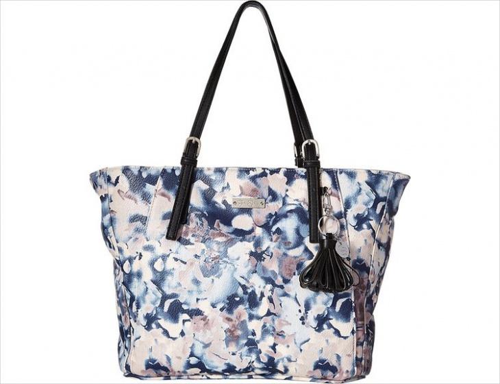 Awesome Floral Print Bag Design