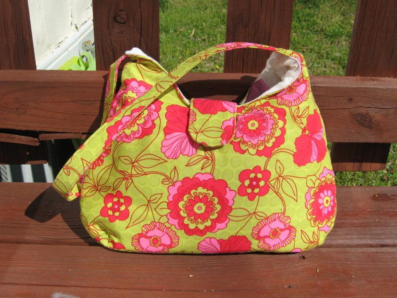 Cool Floral Handbag Design
