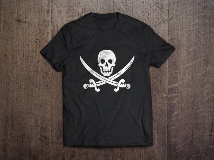 Pirate Flag T Shirt