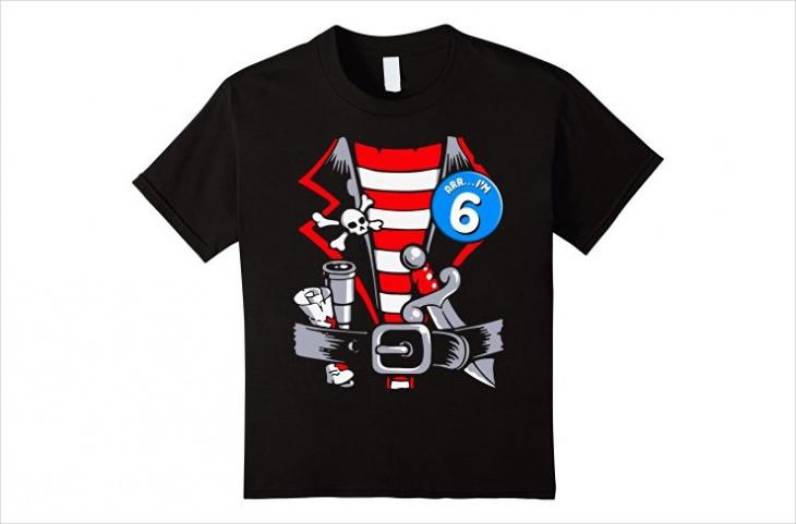 pirate birthday t shirt