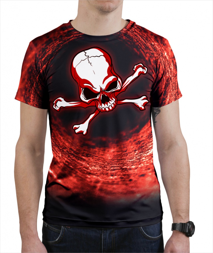 Creepy Pirate T Shirt