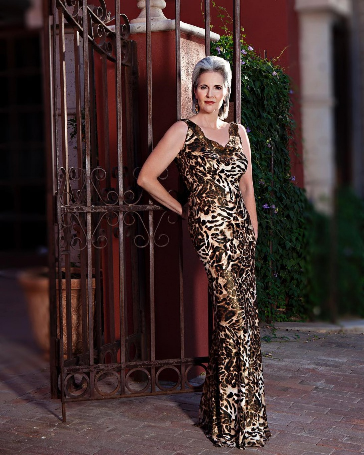 handmade animal print dress
