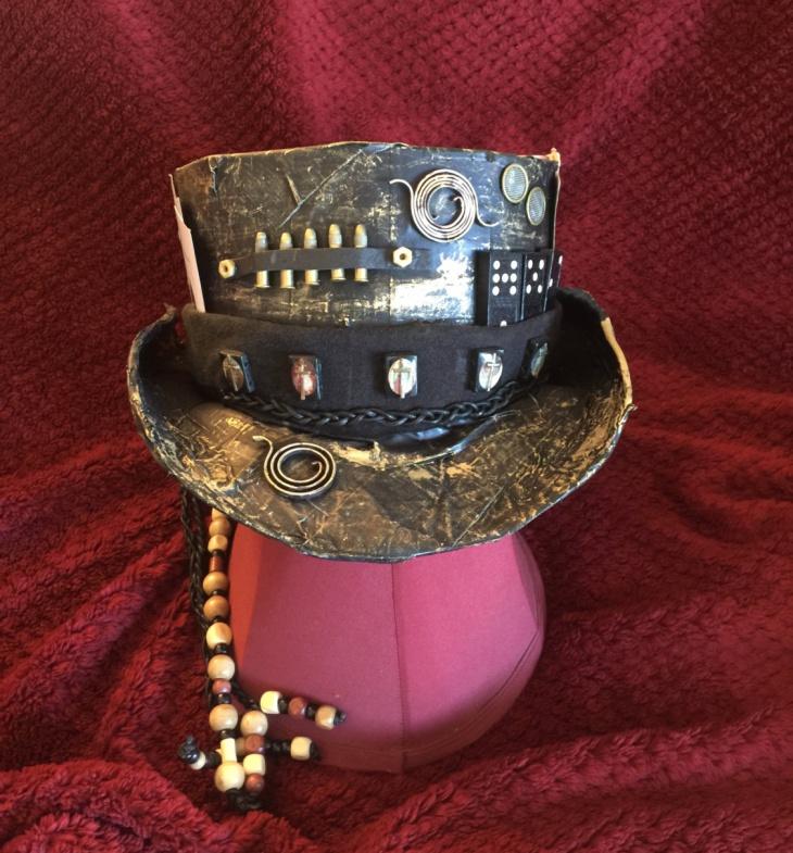 gambler steampunk top hat