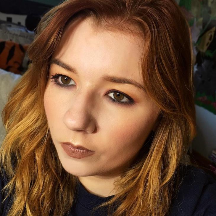 soft grunge makeup design